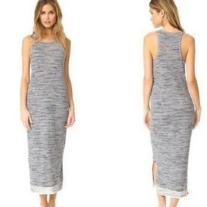 Theory Intrella Space Died Racer Back Maxi Dress